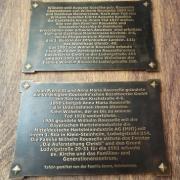 Bronzeschrifttafeln
