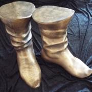 Bronze Stiefel