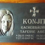 Grabtafel für ein Mausoleum