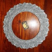 Schalenring aus Aluminiumguss für eine Grabanlage