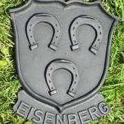 Wappen Eisenberg schwarz
