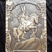 Tafel aus Bronze