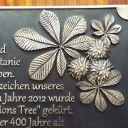 Tafel mit verziehrung